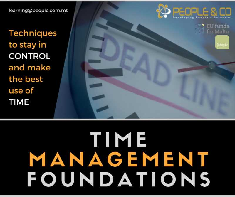 Time Management Foundations