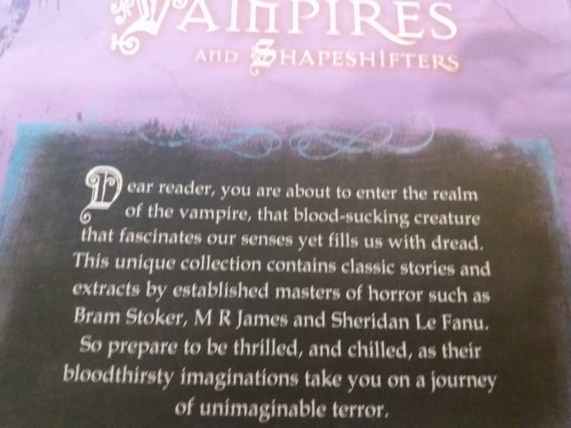 Vampires And Shapeshifters Miles Kelly